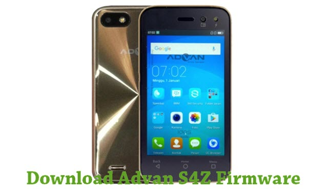 Download Advan S4Z Firmware - Android Stock ROM Firmware