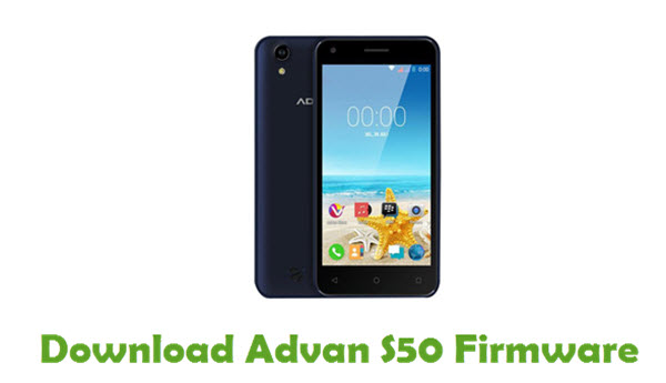 Download Advan S50 Firmware - Android Stock ROM Files