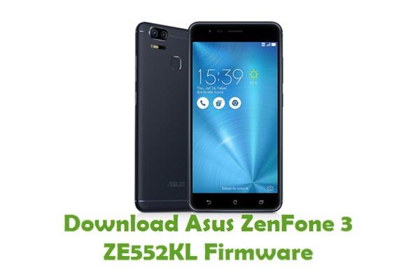 Download Asus ZenFone 3 ZE552KL Firmware