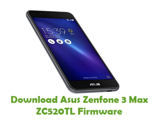 Download Asus Zenfone 3 Max ZC520TL Firmware