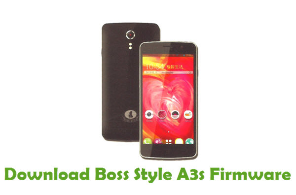 Download Boss Style A3s Stock ROM