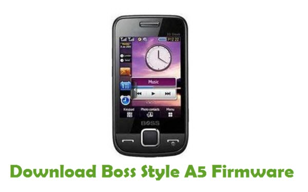 Download Boss Style A5 Stock ROM