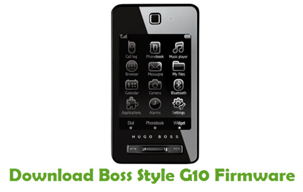 Download Boss Style G10 Stock ROM