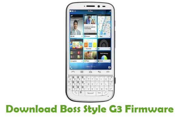 Download Boss Style G3 Stock ROM