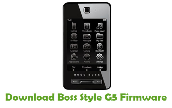 Download Boss Style G5 Stock ROM