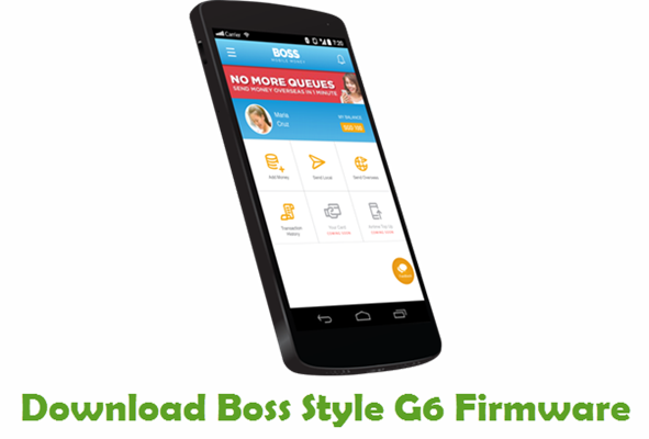 Download Boss Style G6 Stock ROM