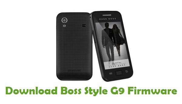 Download Boss Style G9 Stock ROM