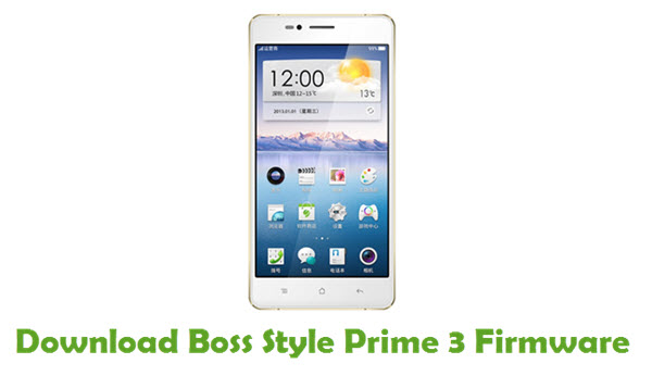 Download Boss Style Prime 3 Firmware