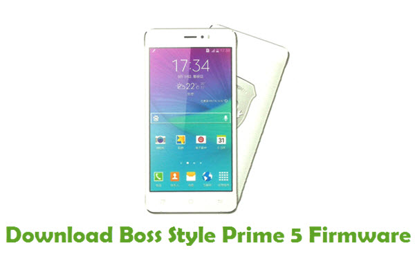 Download Boss Style Prime 5 Stock ROM