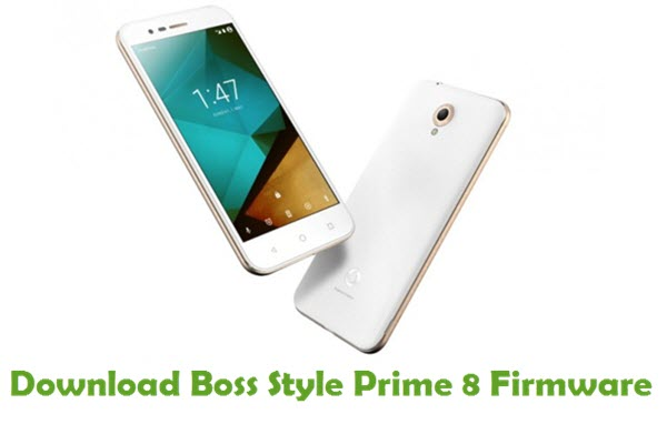 Download Boss Style Prime 8 Stock ROM