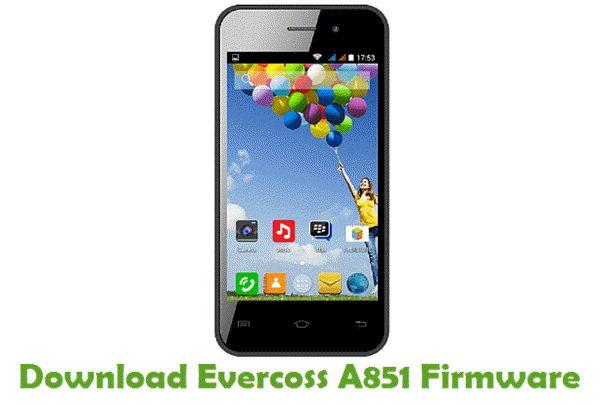 Evercoss A851 Stock ROM