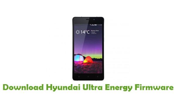 Hyundai Ultra Energy Stock ROM