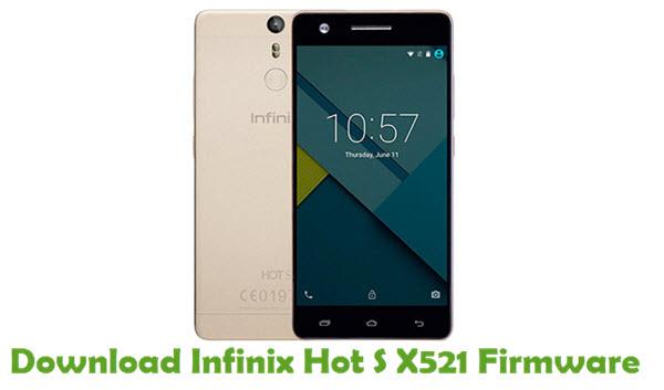 Download Infinix Hot S X521 Firmware