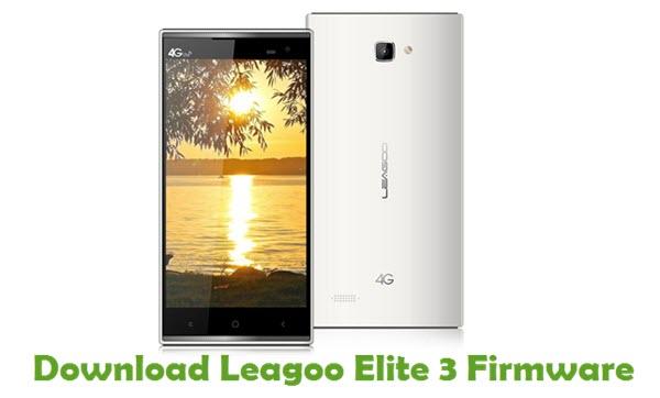 Download Leagoo Elite 3 Firmware