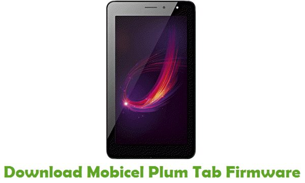 Download Mobicel Plum Tab Stock ROM
