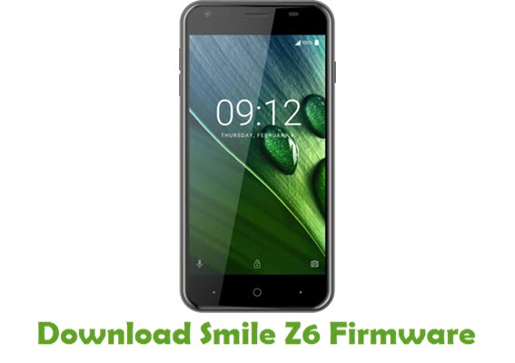 Download Smile Z6 Firmware