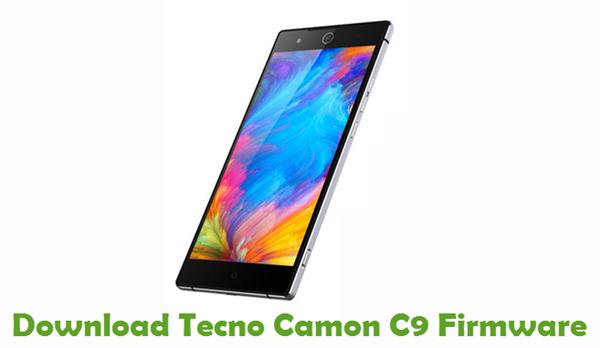 Download Tecno Camon C9 Firmware - Stock ROM Files