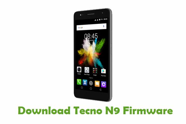 Tecno N9 Stock ROM