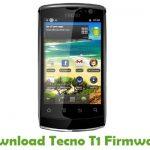 Tecno T1 Firmware