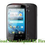 Acer Liquid E1 Firmware