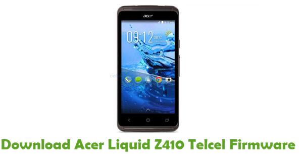 Acer Liquid Z410 Telcel Stock ROM