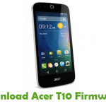 Acer T10 Firmware