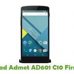 Admet AD601 C10 Firmware