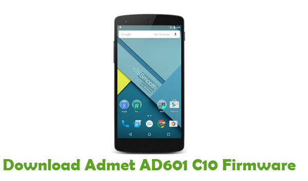 Download Admet AD601 C10 Firmware