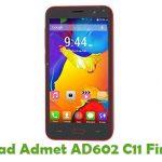 Admet AD602 C11 Firmware