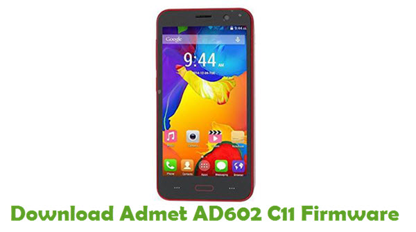 Download Admet AD602 C11 Firmware