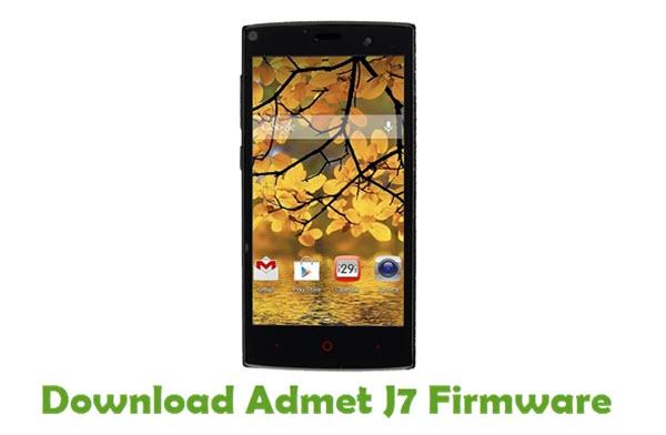 Download Admet J7 Firmware