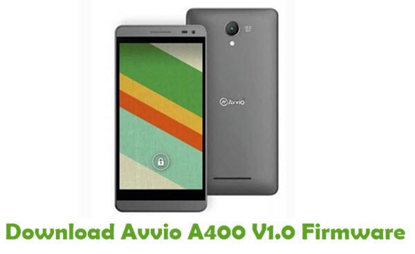 Download Avvio A400 V1.0 Firmware