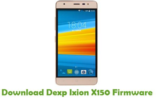 Download Dexp Ixion X150 Firmware