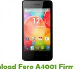 Fero A4001 Firmware