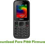 Fero F180 Firmware