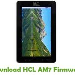HCL AM7 Firmware