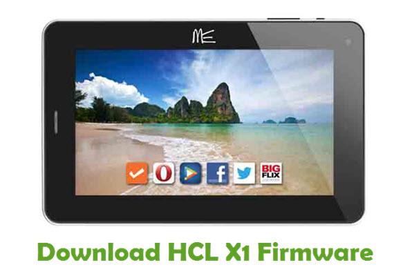 HCL X1 Stock ROM