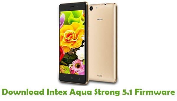 Download Intex Aqua Strong 5.1 Firmware