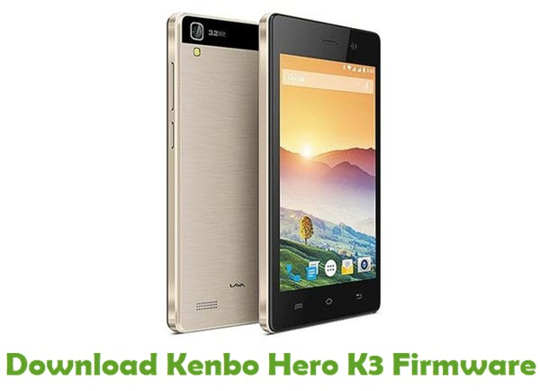 Download Kenbo Hero K3 Firmware