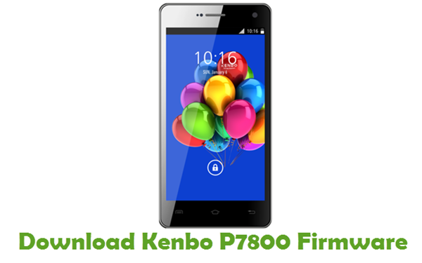 Download Kenbo P7800 Firmware