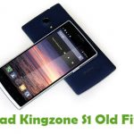 Kingzone S1 Old Firmware