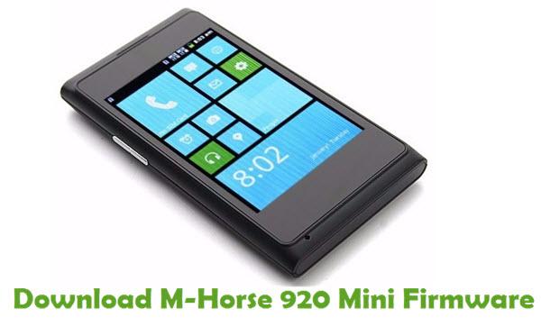 Download M-Horse 920 Mini Firmware