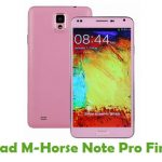 M-Horse Note Pro Firmware