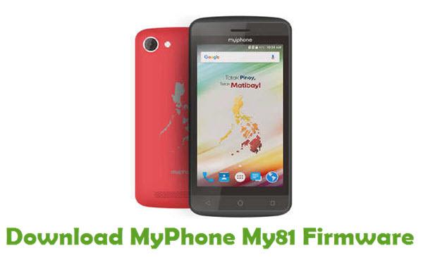 Download MyPhone My81 Stock ROM