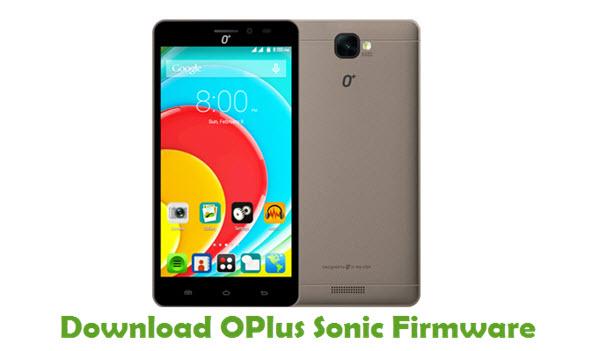 OPlus Sonic Firmware
