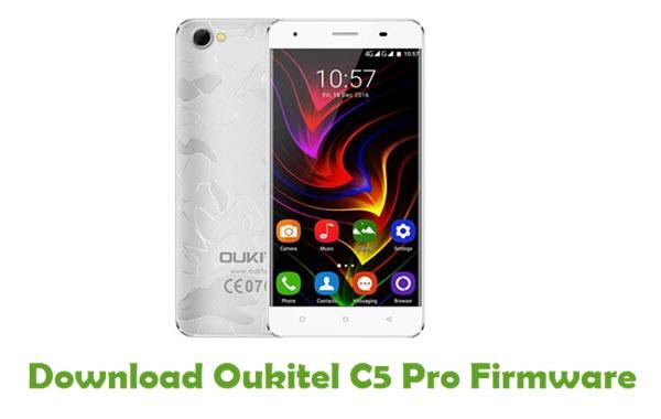 Oukitel C5 Pro Stock ROM