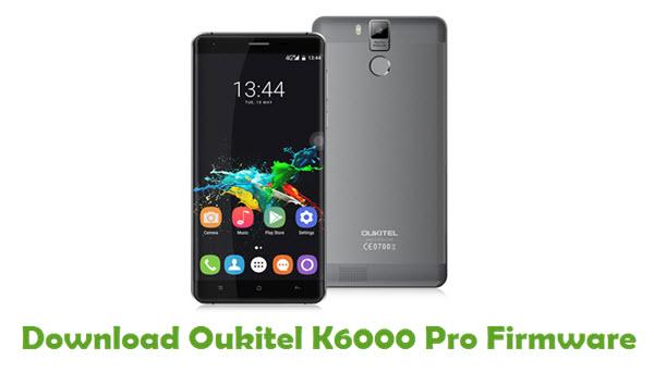 Oukitel K6000 Pro Stock ROM