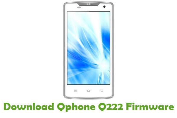 Download Qphone Q222 Firmware