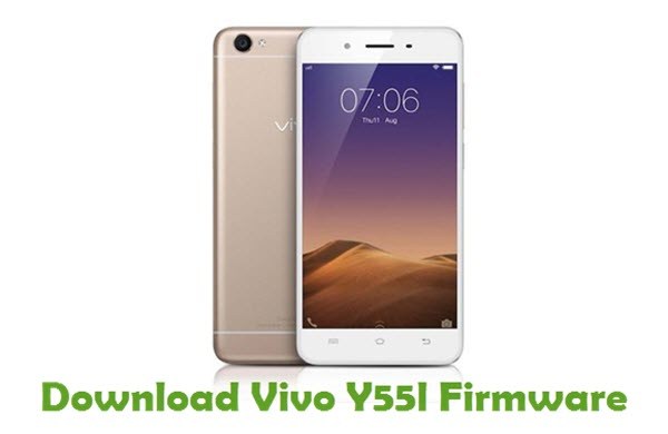 Download Vivo Y55l Firmware