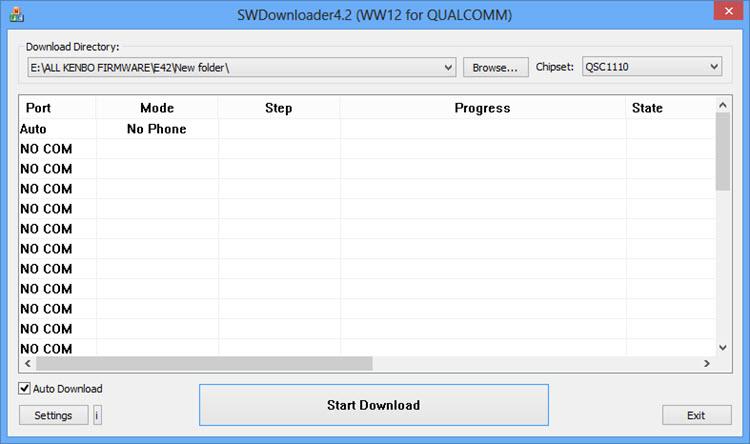 SWDownloader Window